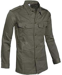Schwedisches Feldhemd M59 Vintage Armee Schlupfhemd Swedish Army Shirt