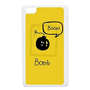 Custom Bomb Cool Cartoon Apple Ipod Touch 4 Hard Case Cover phone Cases Covers