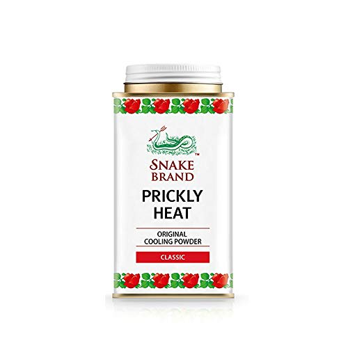 Prickly Heat Powder Snake Brand Classic Scent 140 Grams