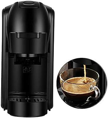 XDLYM Cafetera de cápsulas con función de Memoria, Espresso ...