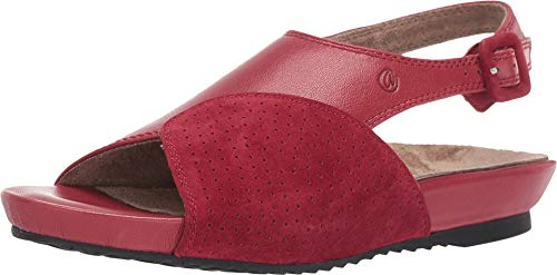 J. Renee Women's Dalenna Sandal (10 M US, Red Capri)