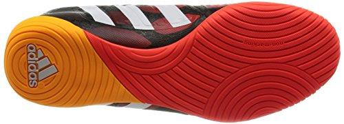 adidas P Absolado LZ IN, Botas de Fútbol para Hombre negro, blanco y rojo (Black 1 / Running White / Infrared)