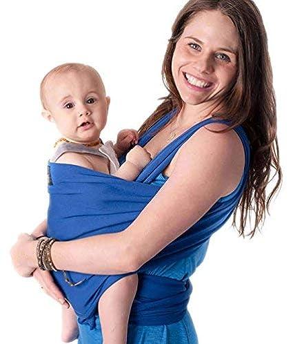 00335ba8154 Fascia Porta Bebè 💙 - Marsupio Neonato - Babywrap CuddleBug - Marsupio  Fascia Neonato