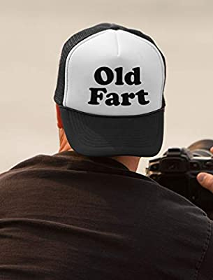 Old Fart - Funny Birthday Gift For Father - Dad Joke Trucker Hat Mesh Cap