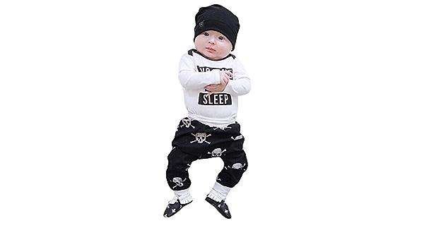 YanHoo Conjunto de Ropa para niños Bebé recién Nacido bebés ...