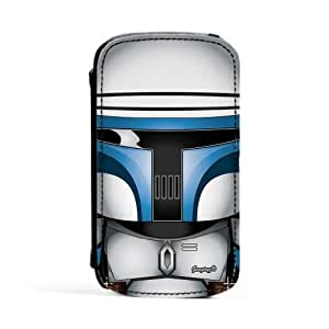 Jango Fett 2 Premium Faux PU Leather Case, Protective Hard Cover Flip Case for Samsung? Galaxy S3 by Gangtoyz + FREE Crystal Clear Screen Protector