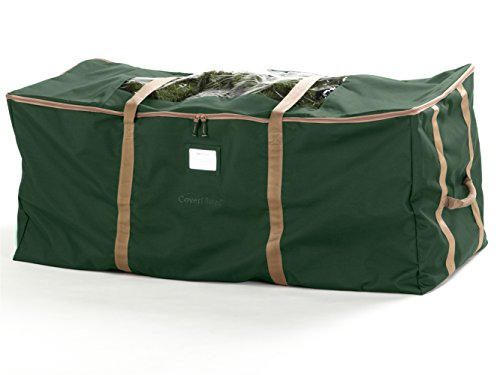 CoverMates – Holiday Tree Storage Bag – Fits 9 to 11 Foot Tree – 3 Year Warranty