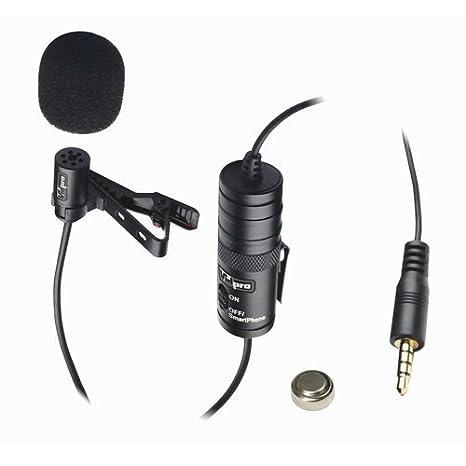 micrófono Externo para Cámara Digital Canon EOS Rebel T5i Vidpro ...