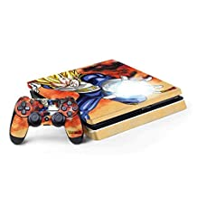Dragon Ball Z PS4 Slim Bundle Skin - Dragon Ball Z Vegeta | Anime X Skinit Skin