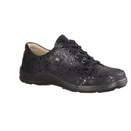 Finn Comfort, Chaussures À Lacets Femme Noir Noir 43