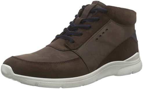 Ecco Men's Irondale Retro High Fashion Sneaker