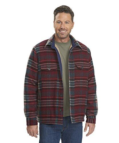 Woolrich Men's Charley Jacket, Dark Copen, (Woolrich Wool Blazer)