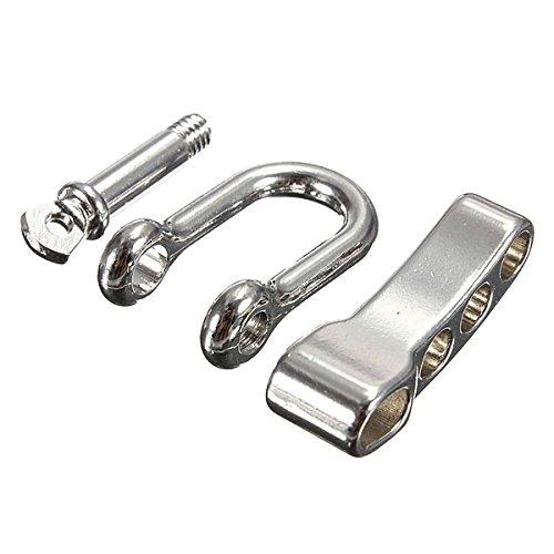 New 10pcs U Anchor Shackle SUS Adjustable Bracelet Buckles Shackle by Letbobg (Image #3)