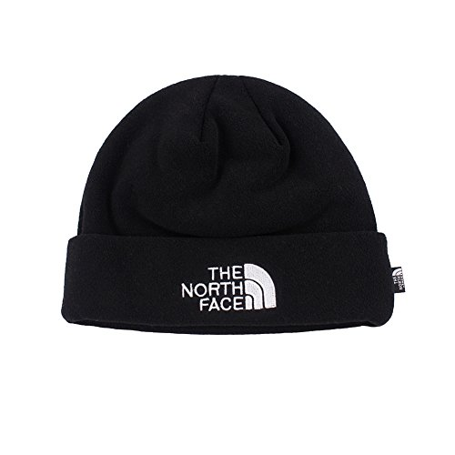 1c382d115a2 Amazon.com  The North Face Double Layers Winter Thicken Polar Fleece  Thermal Beanie Hat (Black