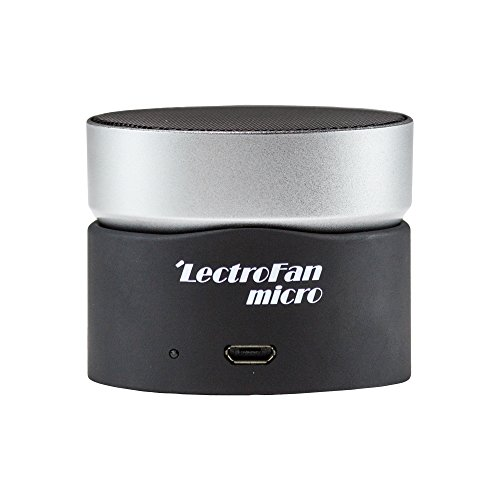 LectroFan - Micro, Wireless Sound Machine With A Twist, Black
