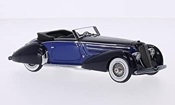 Duesenberg J Graber Convertible, black/blue, 1930, Model Car, Ready-
