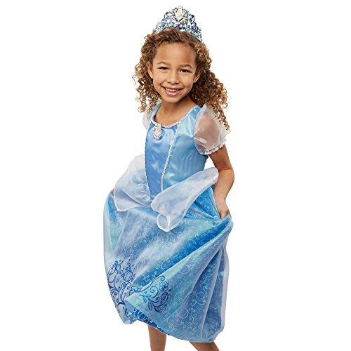 [Disney Princess Friendship Adventures Cinderella Dress 4-6x] (Cinderella Costumes For Girl)