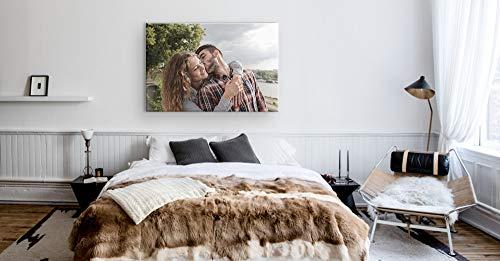 DON LETRA Cuadro en Lienzo Personalizado con Foto o Imagen, 40 x 30 cm, Impresión en Lienzo sobre Bastidor, Cuadros de… 14
