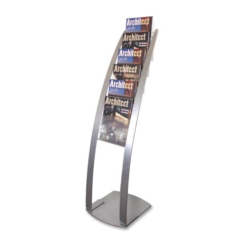 Review Deflect-o Floor Stand with 6 Compartments, 13 by 16-1/2 by By Deflect-O by Deflect-O