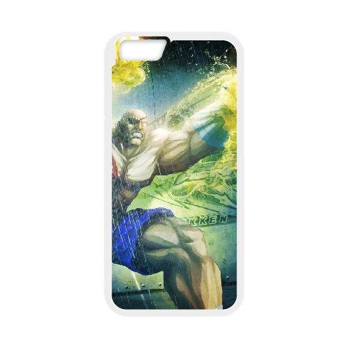 Street Fighter X Tekken 13 coque iPhone 6 Plus 5.5 Inch cellulaire cas coque de téléphone cas blanche couverture de téléphone portable EEECBCAAN03445