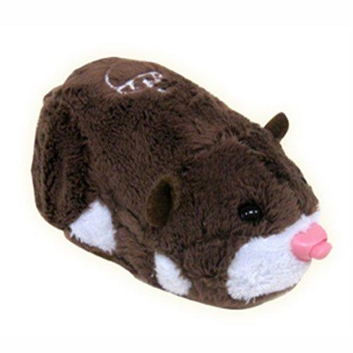 Zhu Zhu Pets Scoodles Dark Brown & White Hamster Kids TOY by Schylling (Image #1)