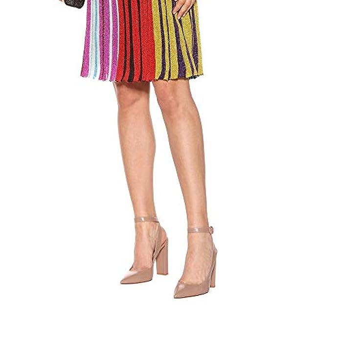 Scarpe E Borse Da Donna Col Tacco Elobaby Donne Sandalo In Pelle Con Plateau Fibbia Nera Nera taglia 34-46