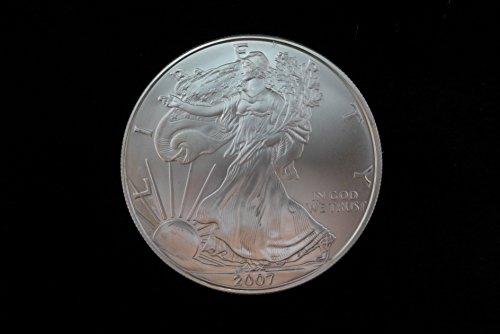 2007 American Eagle 1oz. Silver Dollar Brilliant Uncirculated