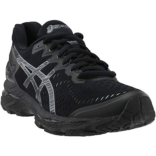 ASICS Women's Gel-Kayano 23 Running Shoe, Black/Onyx/Carbon, 6.5 M US