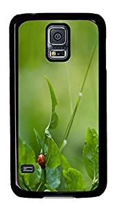 designer Samsung S5 covers Green 11 PC Black Custom Samsung Galaxy S5 Case Cover by icecream design