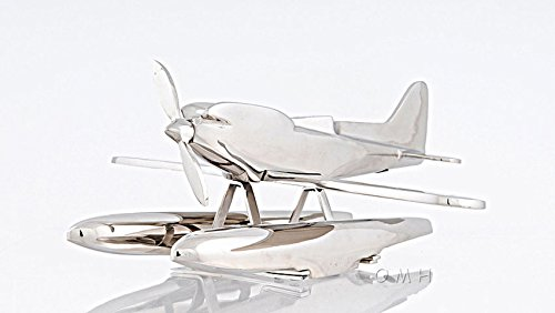 (1929 Supermarine S6A Seaplane Pontoon Float Plane Model 16.5