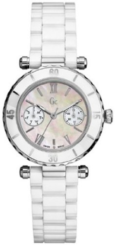 Price comparison product image GUESS GC DIVER CHIC White Ceramic Timepiece