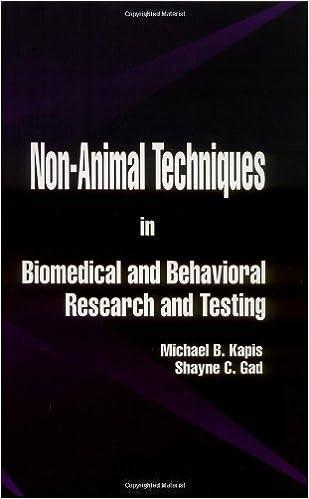 Descargar Ebook Italia gratisNon-Animal Techniques in Biomedical and Behavioral Research and Testing PDF FB2