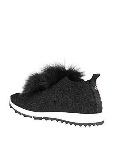 Choo Skate Chaussures De Noir Femme Cuir NORWAYKIOBLACK Jimmy qnwxd1O0Rq