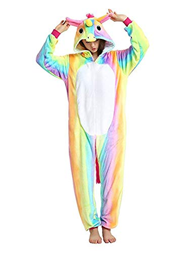 Seogva in adulti Cosplay unisex costume Unicorno di Pigiama Halloween Costume Unisex tuta Costume per AYwUrqYBn