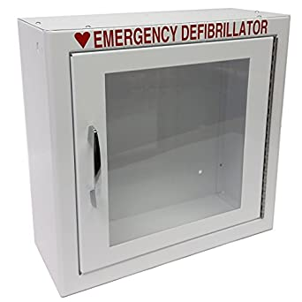 """The First Voice TS145SM  AED Basic Wall Standard Cabinet, 13.5"""" W x 13"""" H x 5.25"""" D"""