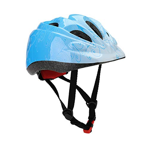 Dostar Kid's Cycling Bike Helmet Road Mountain Racing Adjustable Bicycle Helmets for 2-6 Toddler Boys/Girls (Blue) - Racing Bicycle Helmet