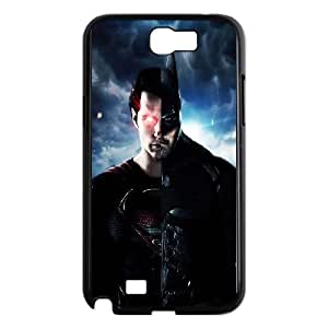 Samsung Galaxy N2 7100 Cell Phone Case Black Batman Superman Mashup SLI_522704