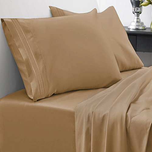 Sweet Home Collection 1800 Thread Count Egyptian Quality Bru