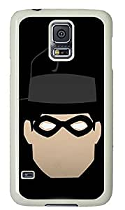 galaxy s5 case,custom samsung galaxy s5 case,TPU Material,Drop Protection,Shock Absorbent,white case,cute cartoon pattern,Detective