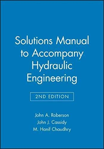 solutions manual hydraulic engineering john a roberson john j rh amazon com Understanding Hydraulics PDF Pneumatic Cylinders and Valves