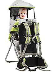 Hiking Backpack Carrier Child Carrier Baby Toddler Hiking Backpack Carrier, Folding Baby Travel Carrier
