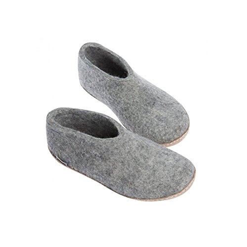 Grigio grigio Unisex Slippers Grey Glerups q7AFTw