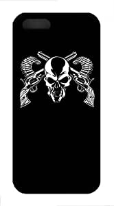 SkullCase For Samsung Note 4 Cover Case Funny Lovely Best Cool Customize Black Cover