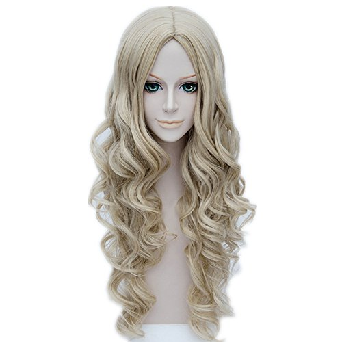 MSHUI Cartoon Cinderella Ash Wigs