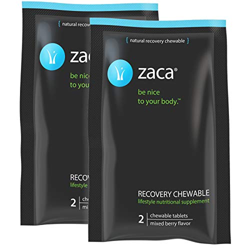 Zaca Recovery Chewable Supplement Hangovers