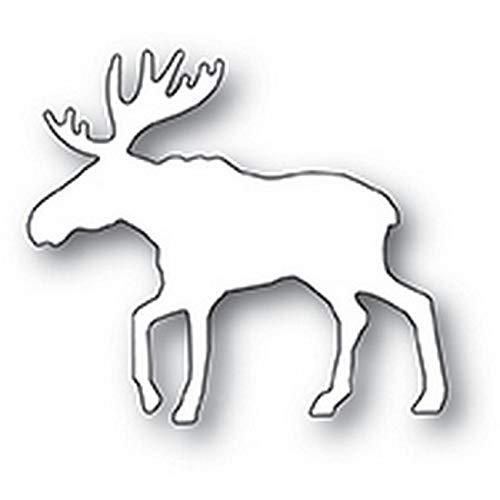 (Poppystamps - Dies - Magnificent Moose (2109))