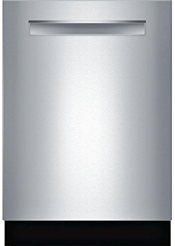 Bosch SHPM65W55N 24″ 500 Series Built In Fully Integrated Dishwasher with 5 Wash Cycles, in Stainless Steel