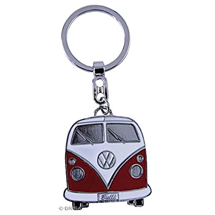 Brisa VW Collection VW T1 Bus Llavero en Caja de Regalo - Rojo