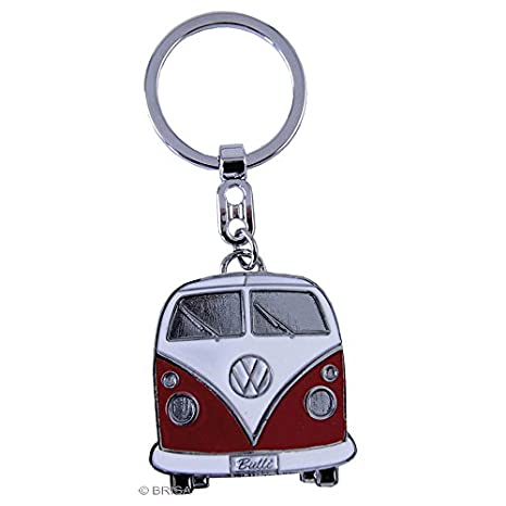 BRISA VW Collection VW T1 Bus Key Ring in Gift Tin - Red