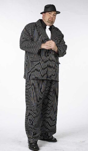 Gangster Man Plus Size Costume